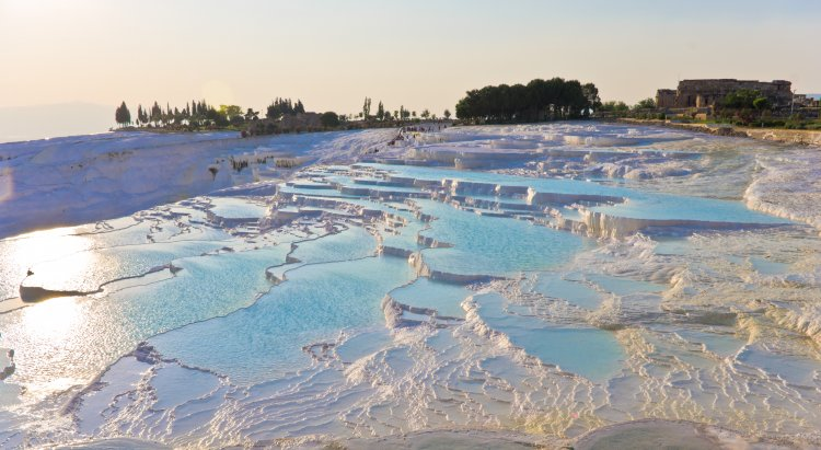 Over 100,000 tourists visited Pamukkale in 4 months