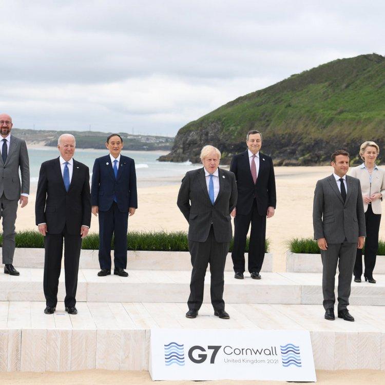 G7 leaders pledge 1 billion COVID-19 vaccine doses to world: UK PM